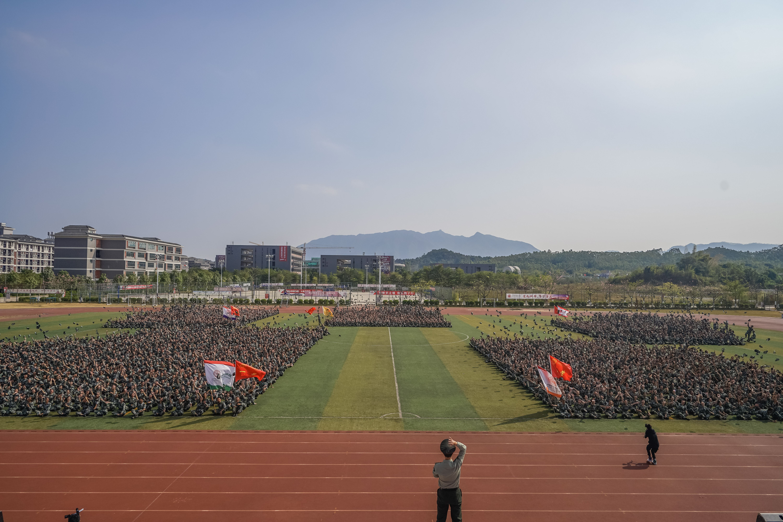 广东岭南职业技术学院2019年新生军训文训